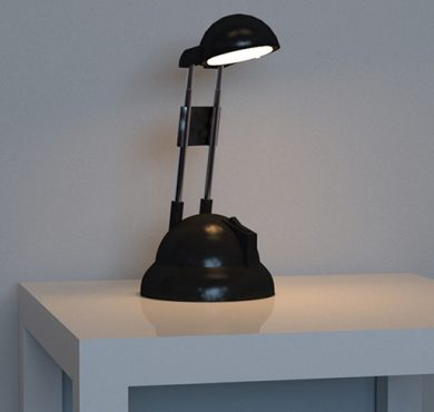V-Ray Tischlampe